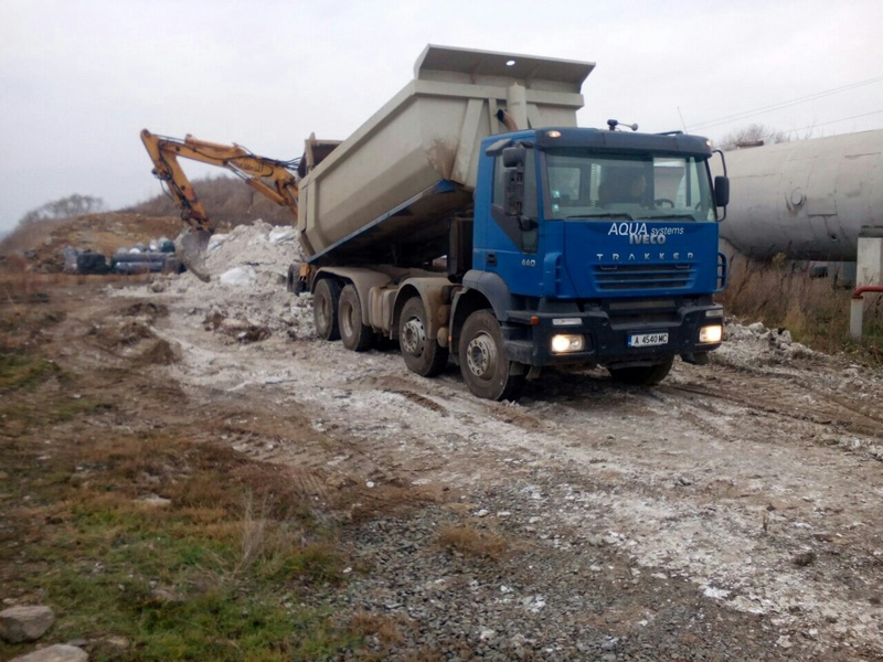 Closure and reclamation of landfill for non-hazardous waste. Sotirya village, Sliven Municipality, stage II. 2015