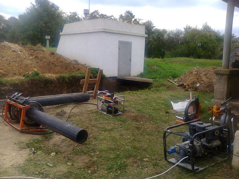 Rehabilitation of water supply system, Venets village.