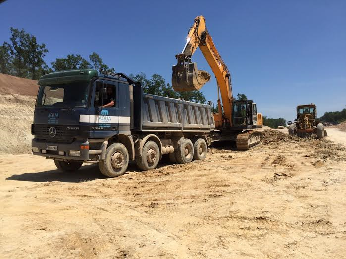 "Excavation, construction and earth works for implementation of the highway road ""Maritza"", LOT2. 2015"